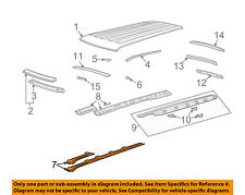 GM OEM Roof-Outer Rail Left 23159488