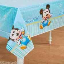 Disney Baby Mickey Mouse TABLECOVER 1st Birthday Party Supplies Tableware
