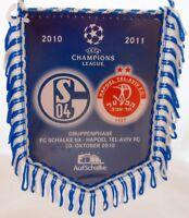 Wimpel Banner OGC Nice FC Schalke 04 37 Europa League 24.11.2016