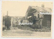 Polen Stadt ? zerstörte Häuser  2.WK  (d750)