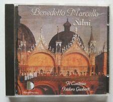 Benedetto Marcello Salmi X XV XVIII CD Il continuo Isidoro Gusberti Stradivarius