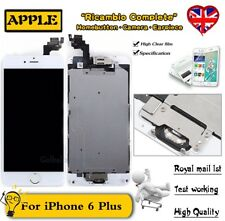 LCD Screen For iPhone 6 Plus Touch Display Digitizer Home Button Camera White UK