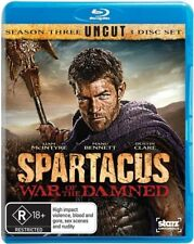 Spartacus - War Of The Damned (Blu-ray, 2013, 3-Disc Set)