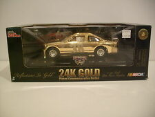 NIB 1:24 Nascar #36 Ernie Ervin 24K GOLD PLATED Die-cast By Racing Champions