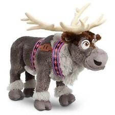 "NEW DISNEY STORE FROZEN PLUSH STUFFED TOY REINDEER SVEN 16"" ANIMAL"