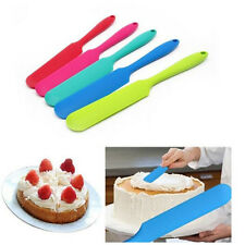 Silicone Cake Cream Scraper Spatula Mixing Brush Butter Kitchen Baking Tools DIY