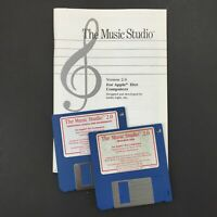 Vintage Apple IIGS Computer Software - Activision The Music Studio, 3.5 floppy
