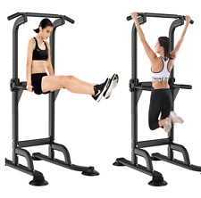 Pull Up Station Power Tower Traction barre horizontale Musculation Fitness home