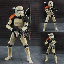 Star Wars The Black Series Wave 1 #03 Sandtrooper Orange Pauldron PVC Figurine