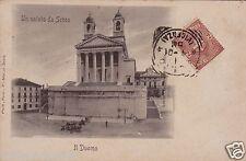 # SCHIO: IL DUOMO - UN SALUTO DA  - 1901