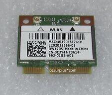 New Dell DW1705 Inspiron  WiFi+Bluetooth Mini PCI-E Card C3Y4J Atheros QCWB335