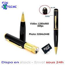 STYLO CAMERA ESPION HD 1280x960 (VIDEO, PHOTO, AUDIO) 32 GO MAX SPY PEN DVR