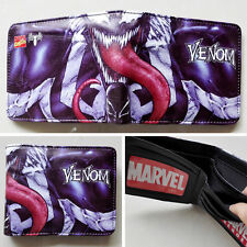Marvel Comics Spider Man Venom 12cm Leather Wallets Purse Cool Gift #15