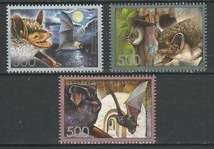 Belarus 2006 Fauna Animals Bats 3 MNH stamps