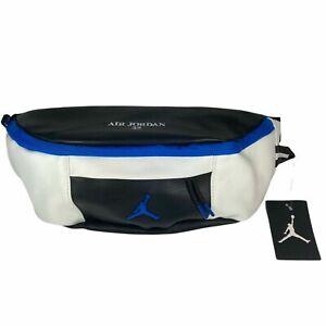 Nike Air Jordan Retro 10 Fanny Pack/Crossbody Sling White/Black-Royal 9A0188-459