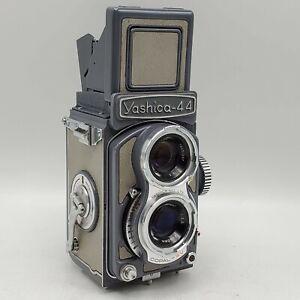 Yashica 44 TLR 4x4 127 Rollfilm Camera w/ Yashikor 60mm F3.5 Twin Lenses *READ*