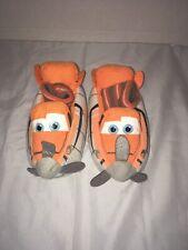Disney PLANES Slippers Kid's Youth Size 5-6 Orange