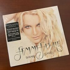Britney Spears CD Digipak Femme Fatale With Hype Sticker Cardboard Sleeve New