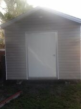 Used Backyard Tool Shed with Window 10x16