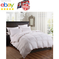 Goose Feather Down Duvet Quilt Cover Luxury Gold Pipe Finish Togs Soft Bedding