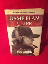 Game Time For Life Joe Gibbs Book Best Seller Hardback Football Nascar