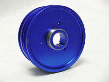 OBX Blue Aluminum Crank Pulley Fits 03 04 Mazda 6 2.3L 3.0L