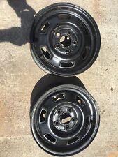 "2 Steel Wheels For Chev. Citation,Buick Skylark,Olds. Omega, Pontiac Phionex 13"""