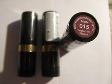 Revlon Super Lustrous Matte Lipstick 015 Seductive Sienna Lot of 3