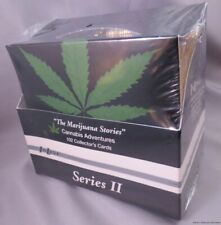 WHOLESALE BOX of  POT MARIJUANA CARDS Inline hemp art cannabis gold lot hash