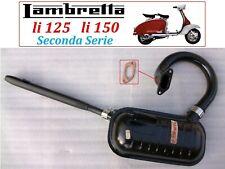MARMITTA  SCARICO COMPLETO PER  LAMBRETTA  LI 125-150 II SERIE