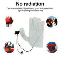 Winter Glove Heating Pad USB Heating Washable Electric SheetThermal Useful T5I1