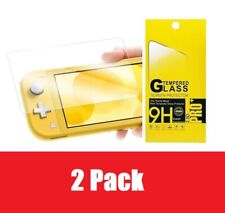 2 Pack Clear HD Tempered Glass Film Guard Protector For Nintendo Switch Lite