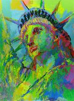 LEROY NEIMAN S/N SERIGRAPH Portrait of Liberty Closeout Sale $2,500 MINT!