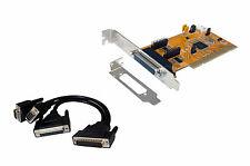 Exsys EX-43390 - PCI Karte 2x Seriell  / 1x Parallel inkl. LP Bügel, Multi I/O