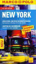 NEW YORK * REISEFÜHRER * MARCO POLO * REISEN MIT INSIDER TIPPS * TOP!!
