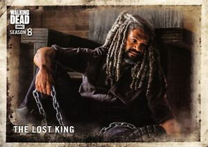 Walking Dead Season 8 Part 1 BASE Trading Card #66 / THE LOST KING