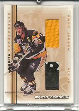 2000-2001 BAP Memorabilia Mario Lemieux Legends L4 Jersey & Glove / 30