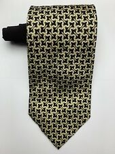 VITALIANO PANCALDI Men's 100% Silk Tie Multi Colored Geometric Print