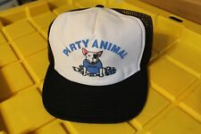 Spuds McKenzie Party Animal Dog 1980's Budweiser Bud Light Beer Rare Trucker Hat