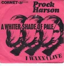 7inch PROCK HARSON a whiter shade of pale GERMAN EX  (S2252)