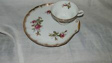 Vintage, Japan, Rose Pattern, Shell Shaped, Luncheon Set