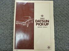 1982 Datsun 720 Pickup Truck Shop Service Repair Manual Book