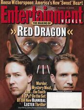Entertainment Weekly Magazine - October 11, 2002 - Anthony Hopkins Edward Norton