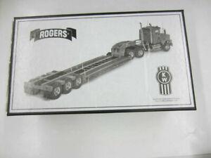 CCM KENWORTH T800 TRACTOR w/ROGERS ULTIMA CR50 TRAILER Brass 1:48 079/250