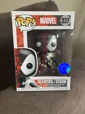 Funko Pop! Marvel Deadpool/Venom Metallic #237 Pop In A Box Exclusive (DAMAGED)