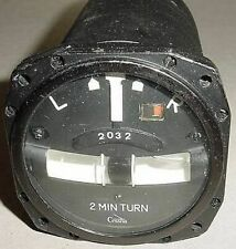 31303-01, Cessna Aircraft 2 minute Electric Turn and Bank Indicator