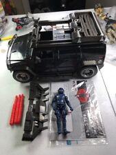 GI Joe Cobra ROC Rise Of Cobra Vehicle Lot 2009 Steel Crusher APV & Nitro-Viper
