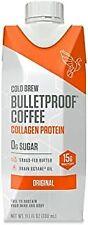 Bulletproof Cold Brew Original Collagen Protein Coffee 11 oz ( Pack of 6 )