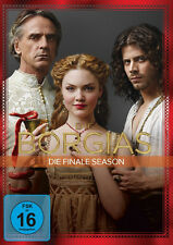 4 DVDs * DIE BORGIAS - DIE FINALE STAFFEL / SEASON 3  ~ JEREMY IRONS # NEU OVP +