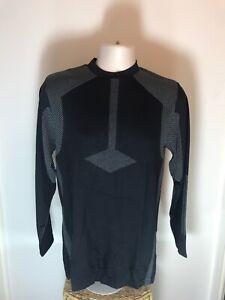 Adidas Climacool Base/Mid Layer Sweater BNWT, Grey And Black, Size Medium